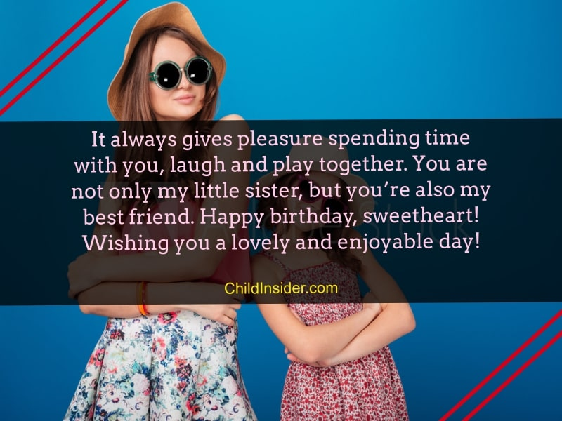 25 Tender Birthday Messages for Younger Sister