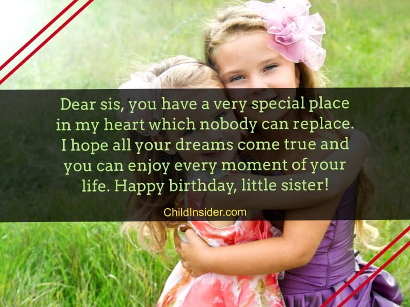 Cool 25 Tender Birthday Messages For Younger Sister Funny Birthday Cards Online Fluifree Goldxyz