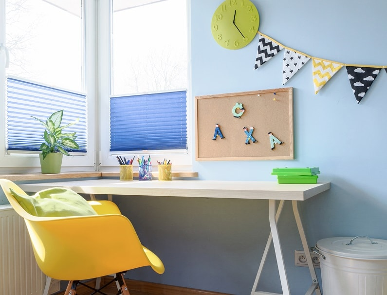 kids study desk ideas without storage