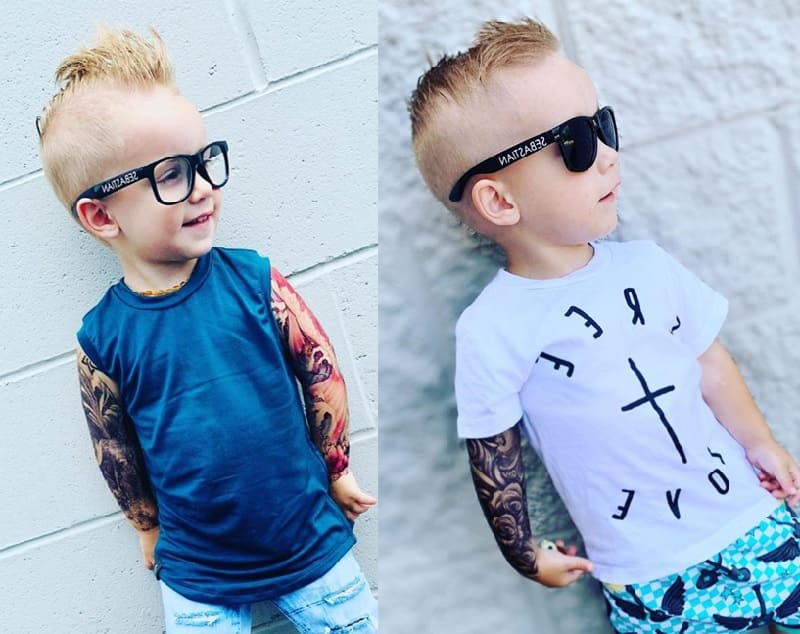 long on top hairstyles for toddler boy