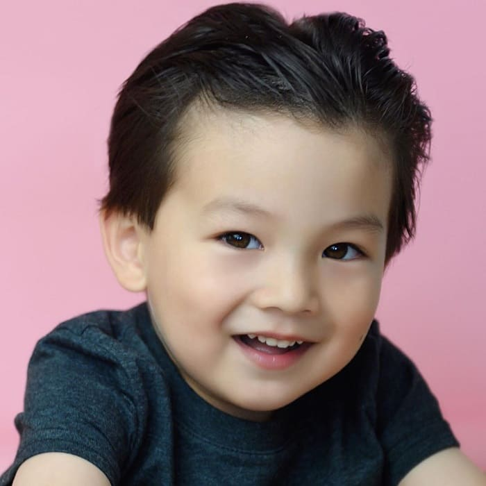 slicked back hairstyles for toddler boys