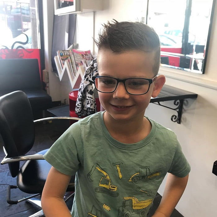 7 year old boy spiky hairstyles