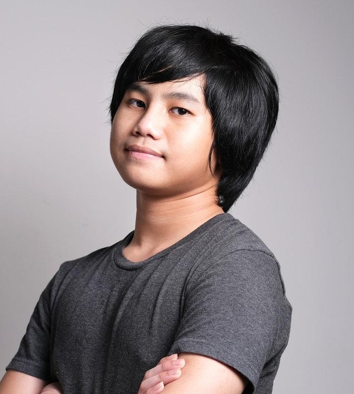 Haircut for Teen Boys with Long Hair