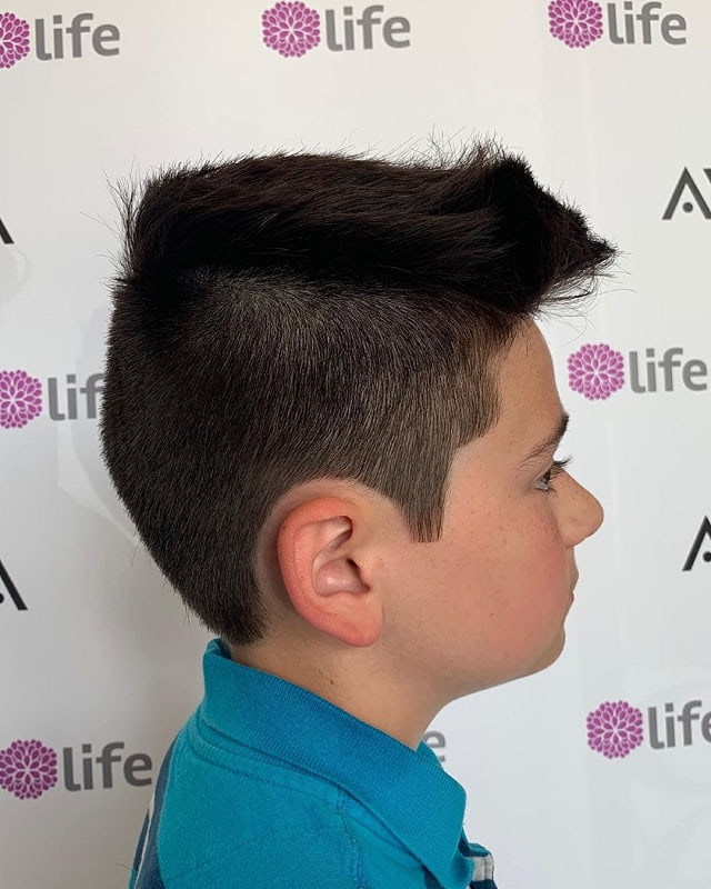 haircuts for boys with straight hair