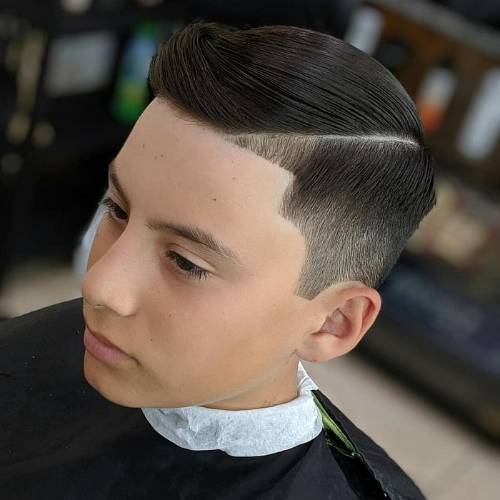 quiff haircuts for boys with straight hair