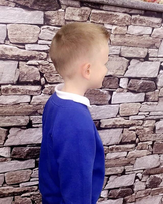 short quiff haircuts for school boys
