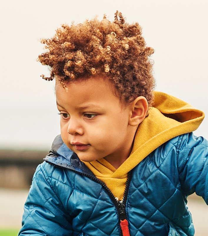 hairstyle for mixed little boys