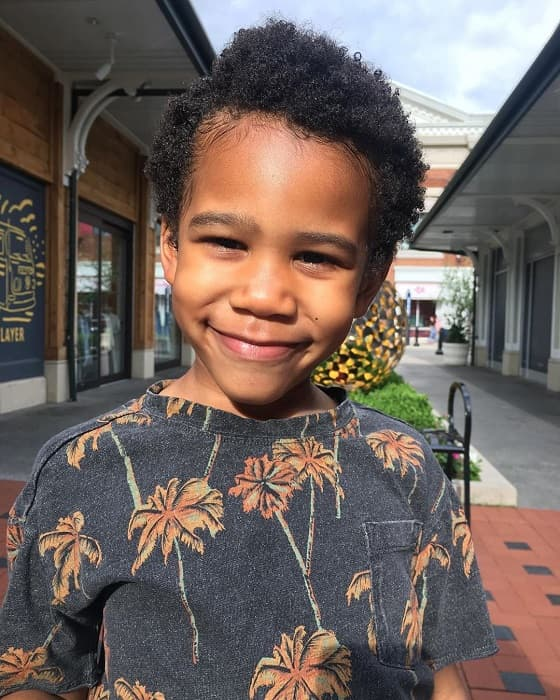 8 Charismatic Curly Haircuts For Little Black Boys