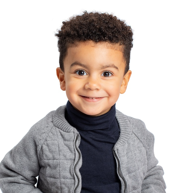 mixed toddler boy hairstyle