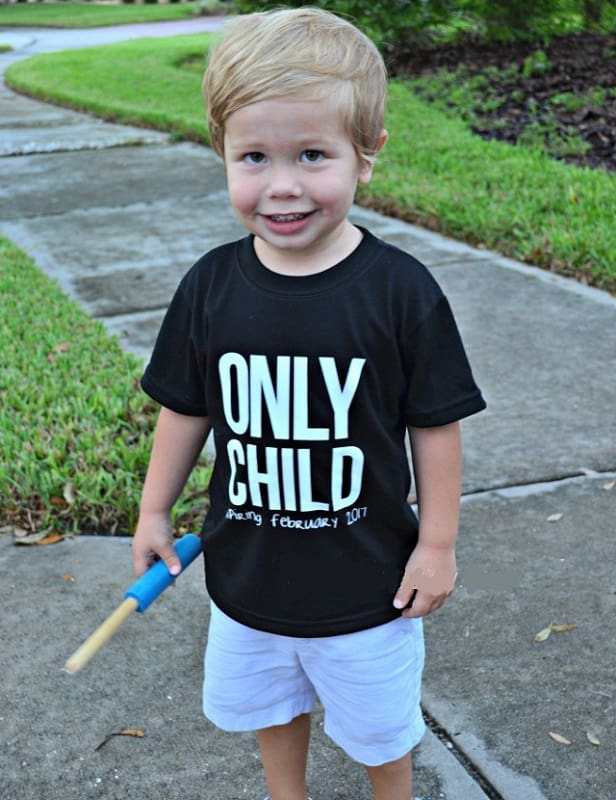 expiring t-shirt ideas for 2nd baby announcement