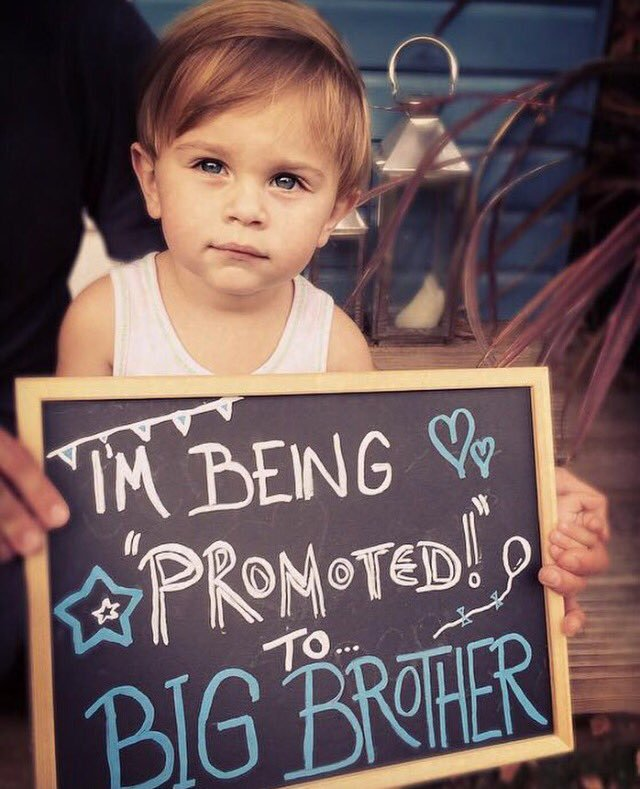 25 Fun Ideas to Make Second Baby Announcement - Child Insider