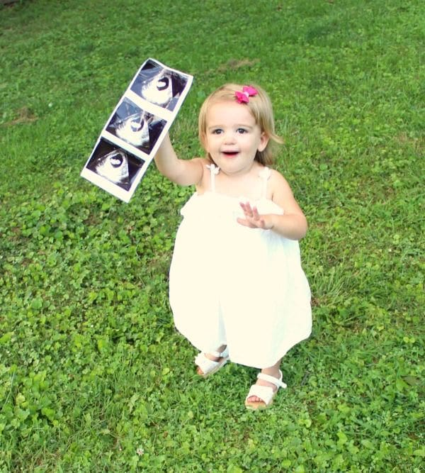 2nd baby announcement ideas