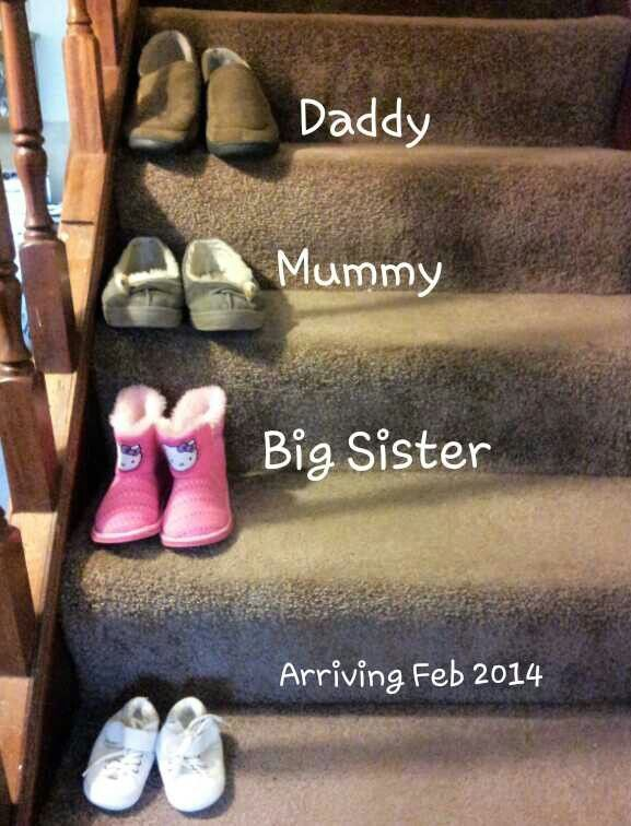 second baby announcement ideas