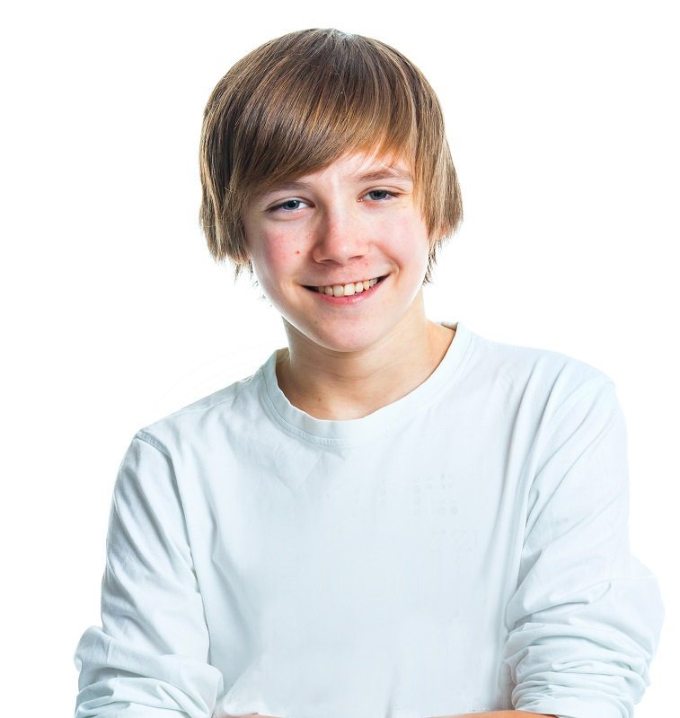 short blonde hairstyle for teen boys