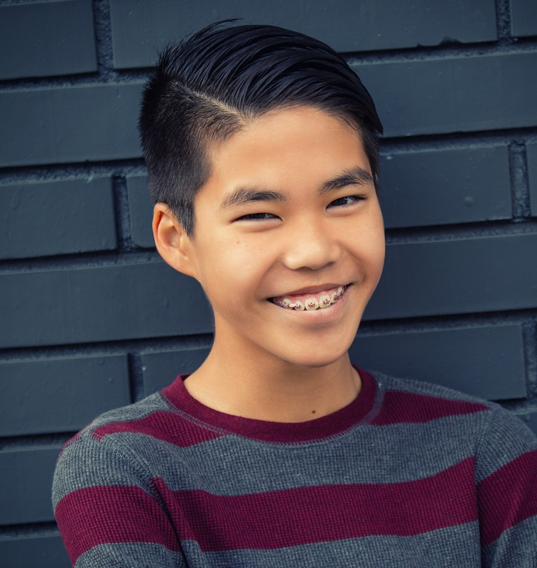 short hairstyle for Asian teenage boys