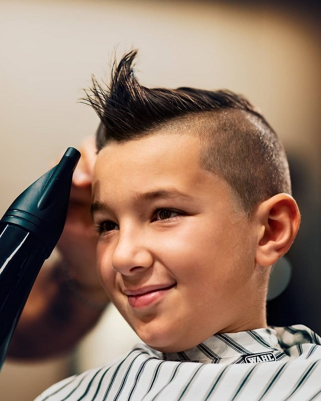 spiky haircuts for boys