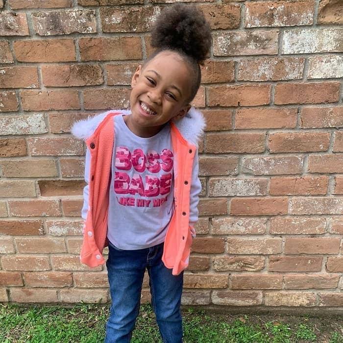 ponytail for little black girl