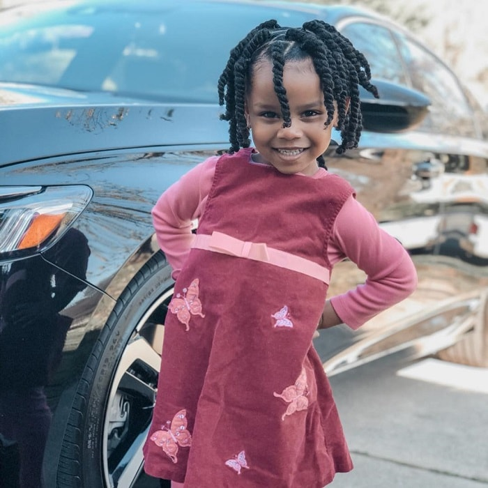 twist hairstyle for little black girl